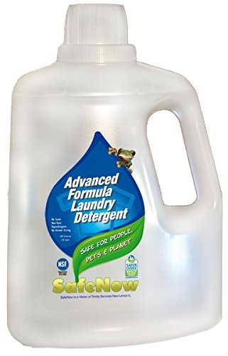 SafeNow Baby Safe Laundry Detergent, Non-Toxic, Unscented, Hypoallergenic, Safe Now for People,...