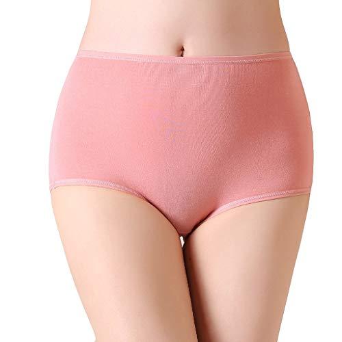 URIBAKY Sexy Unterwäsche Damen Mädchen Sensual Secrets Große Größe Slip aus Baumwolle High Waist G-String,Unterhosen Kurze Tanga Dessous Knicker