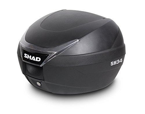 SHAD D0B34100 Baúl Moto SH34, Negro, 0