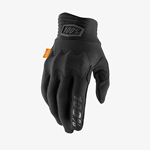 100% Cognito D3O Gloves (Medium) (Black/Charcoal)