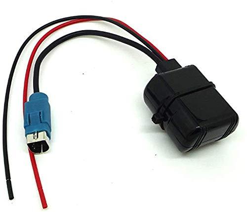 Herchr Auto Alpine Radio, KCE-236B Bluetooth Audio-Eingang 12 V Netzteil, Schwarz