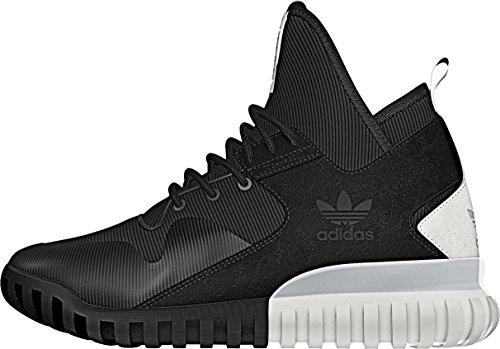 adidas Tubular X Zapatillas de carrera para hombre, (Black White S74924), 36 2/3 EU