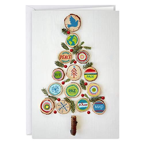Hallmark Unicef Weihnachtskarten, in Box Friedensbaum