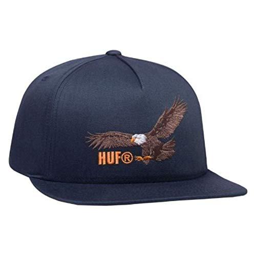 HUF - Gorro para hombre, diseño de ala de Span, color azul marino oscuro