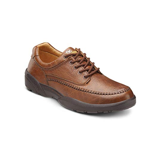 Dr. Comfort Stallion Men's Therapeutic Diabetic Extra Depth Dress Shoe