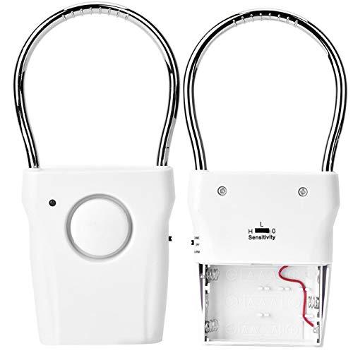 Alarma de Seguridad de Puerta de Puerta de vibración antirrobo con 120dB Super Loud con Interruptor de un botón