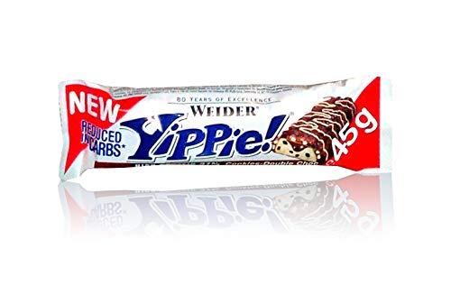 Weider Yippie 18 x 45g Riegel - Cookies Double Choc