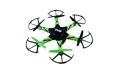 Toy Lab- X-Drone Shuriken, Color Naranja y Verde (XD1510200)