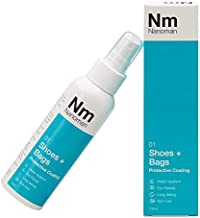 NANOMAN Shoe Protector Spray Latest Nano-Technology, Suede, Canvas, Leather, Sneakers, Water & Stain Spray Protector (3.4 Fl Oz)