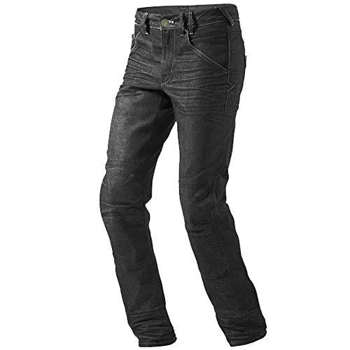 """Jet Motorradhose Jeans Kevlar Aramid Mit Protektoren Herren (52 Kurz/Weite 36"""" Länge 30""""(XL), Schwarz)"""
