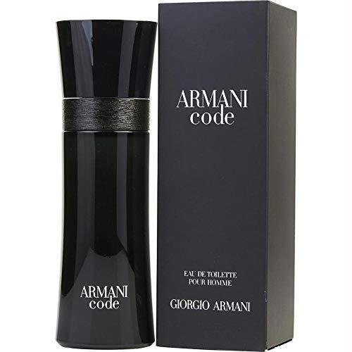 Giorgio Armani Code Eau de Toilette, Uomo, 75 ml