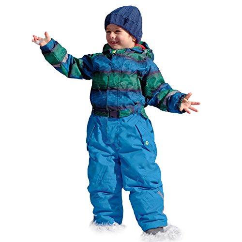 Killtec Kinderskianzug Ski Overall Allover Skianzug Sarly Mini Grün Blau Royal Größe 80