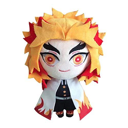 SGOT Demon Slayer Plüschtier, Plüsch Weiches Doll, Geschenke, Spielzeug, Sammlungen, Dekorationen 20cm(Rengoku Kyoujurou)