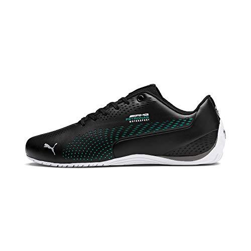 PUMA Mercedes AMG Petronas Drift Cat 5 Ultra II Sneaker Puma Black-Spectra Green UK 7.5_Adults_FR 41