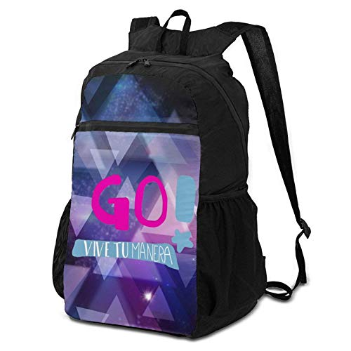 Go Vi_Ve A T_U Ma_Nera Travel Laptop Backpack, Climbing Bag for Mens and Womens