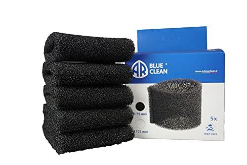 AR Blue Clean Filtros de esponja negro