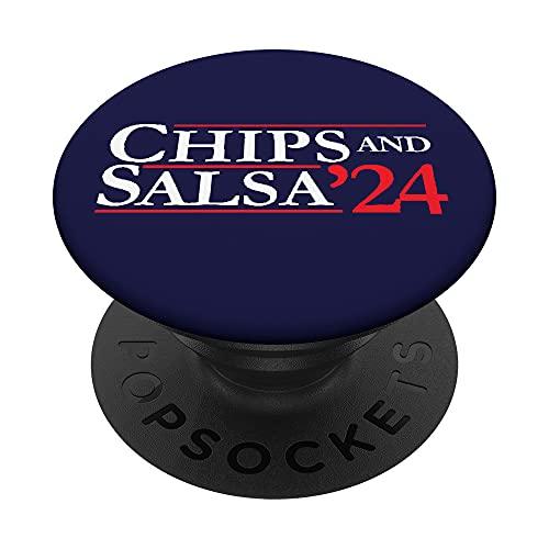 Campaña Electoral Novedad 2024 | Fichas '24 & Salsa PopSockets PopGrip Intercambiable