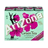 Arizona, Green Tea With Ginseng And Honey (Pack of 2)