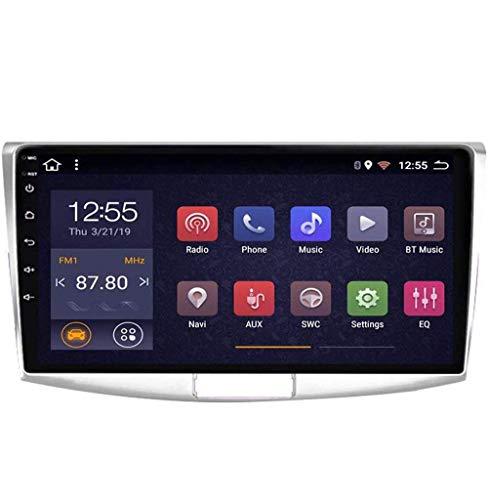 Radio de coche Android 8.1, GPS, pantalla táctil de 9 pulgadas, estéreo, para VW Magotan CC Passat 7 B7 2010 – 2015, con control en el volante, Bluetooth, manos libres, espejo Link, 4G + WIFI1G + 16G