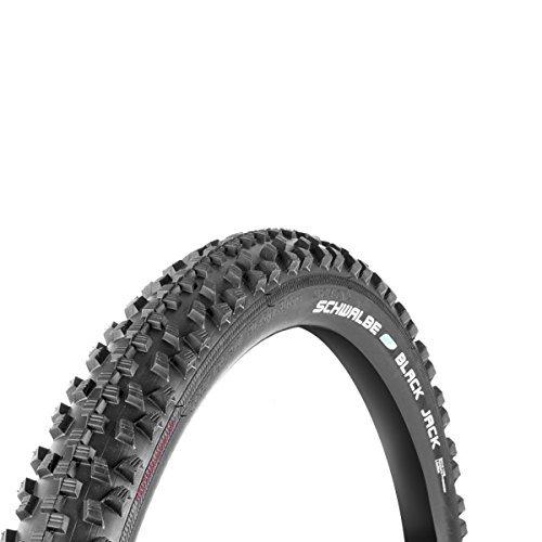 Schwalbe Black Jack 26X1.90 Wired Tyre 605g (47-559) - Black by Schwalbe