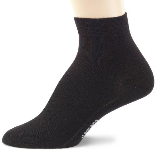 Camano Unisex - Erwachsene Socke 3-er Pack 3023, Gr. 43-46, Schwarz (black 05)