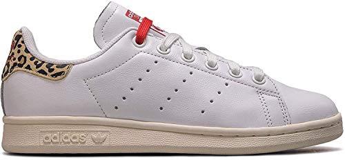 Adidas Wmn Stan Smith White Leo Größe: 4(36⅔) Farbe: White
