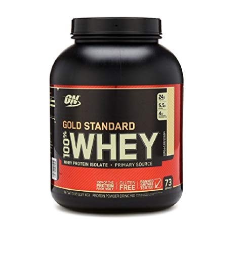 Optimum Nutrition 100% Whey Gold Standard (5lbs) Vanilla Ice Cream, 2.27 kg
