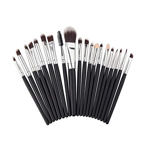 YaXDS Multifunción Fundación Pincel de Maquillaje Sistema de Cepillo con pelos Suaves sintéticos for la Fundación,Polvo,Correctores,Blush,y Brocha Set de brochas de Maquillaje
