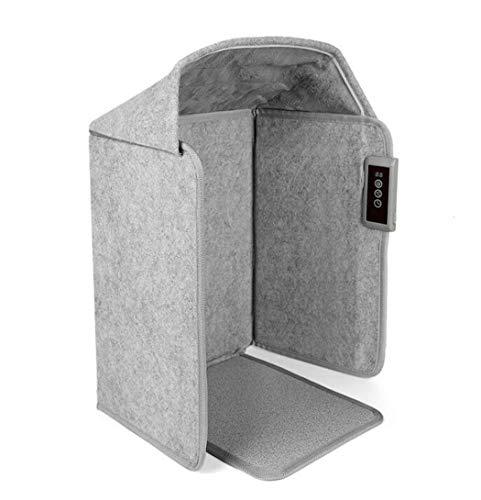 HBBH Elettrico Scaldapiedi Termostato Regolabile Pieghevole Piatto Stufetta sotto la scrivania del Piede Caldo con Il Silenzio di Funzionamento