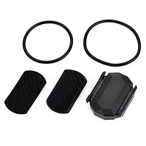 Alomejor - Sensor inalámbrico para Bicicleta, Bluetooth, conectividad de Velocidad, cadencia, Combo, Sensor de Velocidad, Impermeable, para Ordenador, rastreador, tacómetro