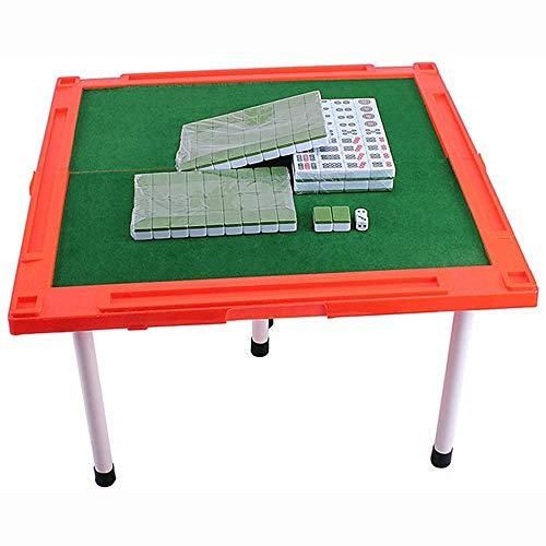 Grote haai Mahjong Set, Mini Mahjong merk met opklapbare tafel draagbare Mahjong Set familie spel