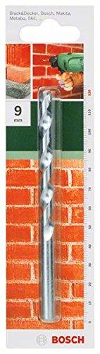 Bosch 2609255437 120mm Masonry Drill Bit with Diameter 9mm