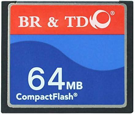 Compact Flash Memory Card BR&TD ogrinal Camera Card 64MB CF Card