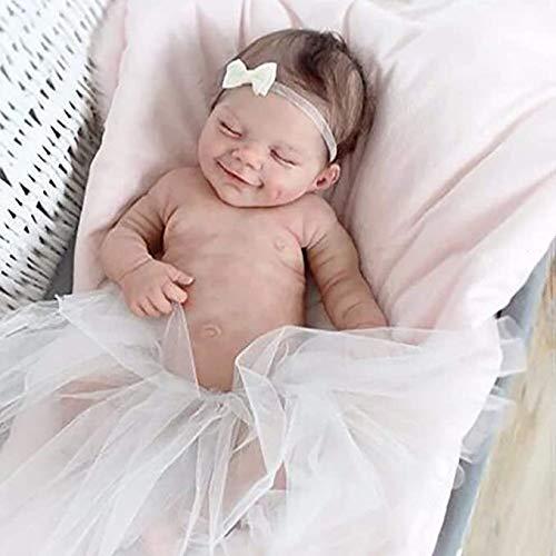 Mueca recin Nacida Hecho a Mano Beb Reborn Muecas Nio Silicona Cuerpo Completo Realista Recin Nacido Bebs renacidos Nio y nia Nio pequeo Mueca para Dormir Regalos