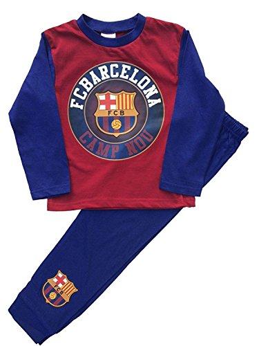 Barcelona F C - Pijama Dos Piezas - niño Rojo Granate