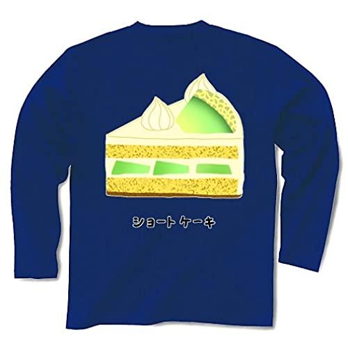 ショートケーキメロン2005 長袖Tシャツ Pure Color Print(ロイヤルブルー) XL ロイヤルブルー