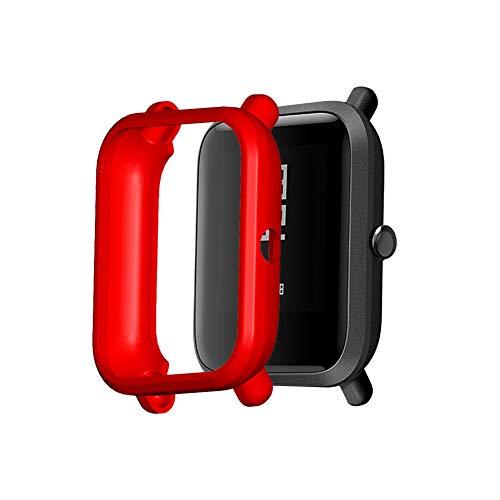 NEWMAN771Her - Carcasa protectora para reloj inteligente (compatible con Amazfit Bip/Amazfit Bip S/Bip 1S/Amazfit Bip Lite/Bip Lite 1S/Amazfit A1608)