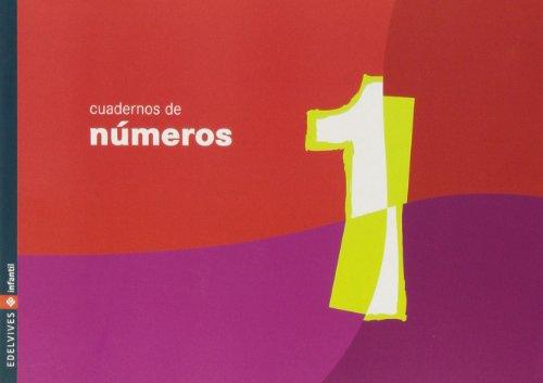 Cuaderno 1 de numeros (Infantil)