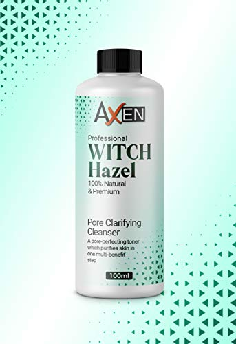 Distilled Witch Hazel Liquid 100ml - Pure, Natural, Cruelty Free, Vegan - Cleansing & Toning - Ideal for Aromatherapy, Skincare and DIY Beauty Recipes