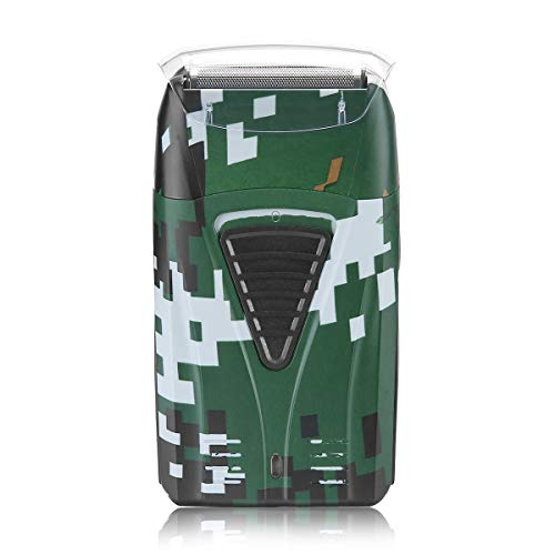 Electric Shaver for Men, Pro Lithium Titanium Foil Shaver, Bald Head Shaver Beard Trimmer Hair Clippers, USB Rechargeable (Classic Camouflage Color)