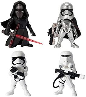 Action Figures Toys STAR WARS 4Pcs ChArActer Model GArAge Kits Model Toys Office DecorAtion Accessories For Childrens HolidAy Gifts