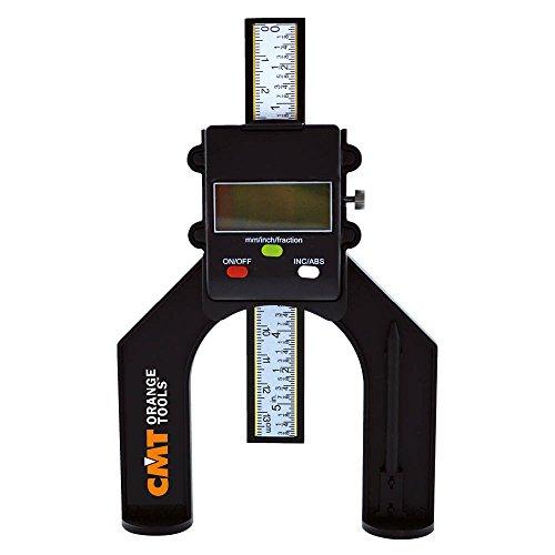 CMT Pied à coulisse numérique pour outils avec tige de profondeur 0–80mm Noir Code produitDHG-001