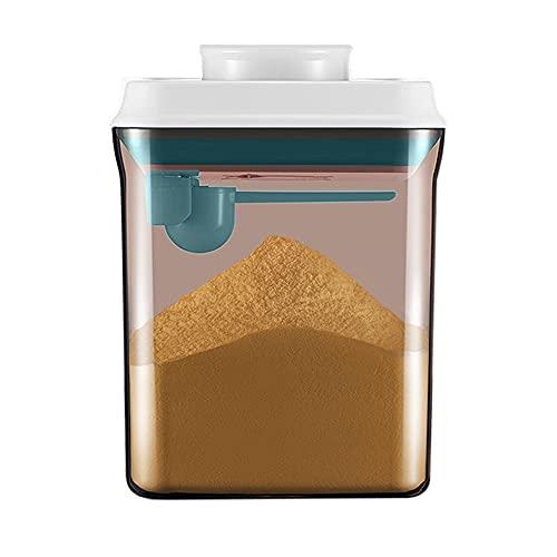 Furado Dispenser per Latte in Polvere,Contenitore in Polvere Sigillato,Portatile Scatola per Il Latte in Polvere per Bambini,Foca,Anti-UV,per Conservare Latte in Polvere,Snack,Cereali (1.7L)