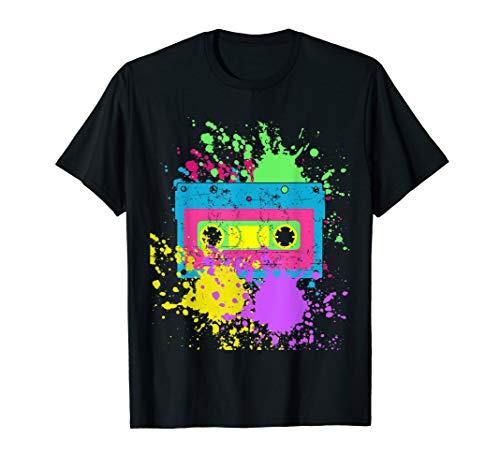 Kassettenband 80er 90er Jahre Kostüm Retro Vintage T-Shirt