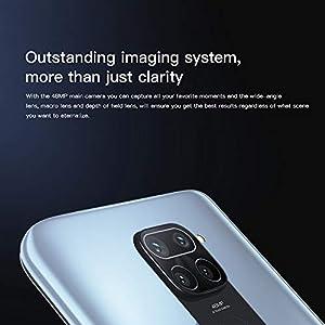 "Xiaomi Redmi Note 9 Teléfono 3GB RAM + 64GB ROM, 6,53"" Pantalla Completa, MTK Helio G85 Procesador Octa-Core, 13MP Frontal y 48MP+8MP+2MP+2MP AI Quad Cámara Trasera Versión Global (Blanco)"