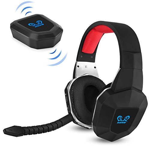 7.1 surround sound wireless game headphones