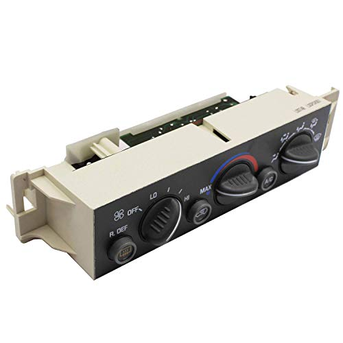 Weelparz AC Heater Climate Control Panel 16238885 599006 15-72547 for 1996-2000 Chev y Tahoe Suburban C1500 C2500 C3500 K1500 K2500 K3500 GM C Yukon Suburban C1500 C2500 C3500