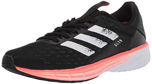 adidas SL20 - Zapatillas de Correr Unisex para niños, Negro (Negro/Blanco/Signal Coral), 37 EU
