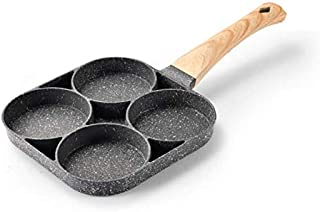 FashionYY-Non-stick Pan, four-hole Omelette, Egg Burger Pan, Omelette Pan, Induction cooker gas-fired General Purpose Pot