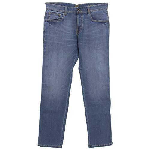 Camel Active, Houston, Herren Herren Jeans Hose Light Color Denim Stretch Lightblue W 38 L 34 [23195]